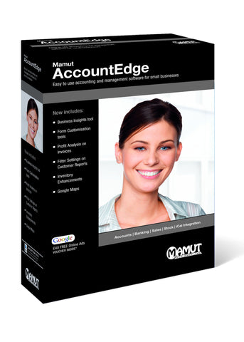 Mamut AccountEdge Mac accounting software