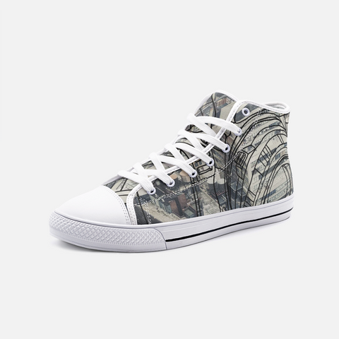 Snap City Unisex High Top Canvas Shoes