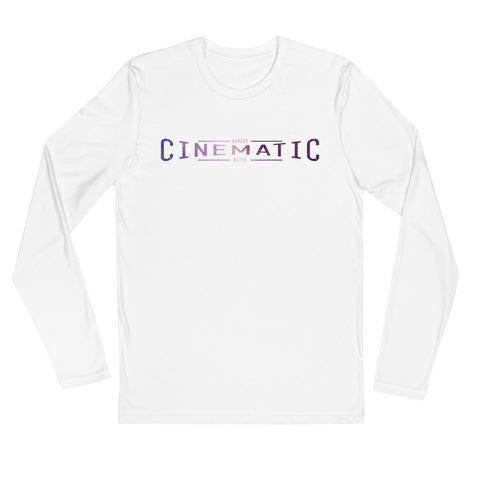 Cinematic - Long Sleeve Fitted Crew
