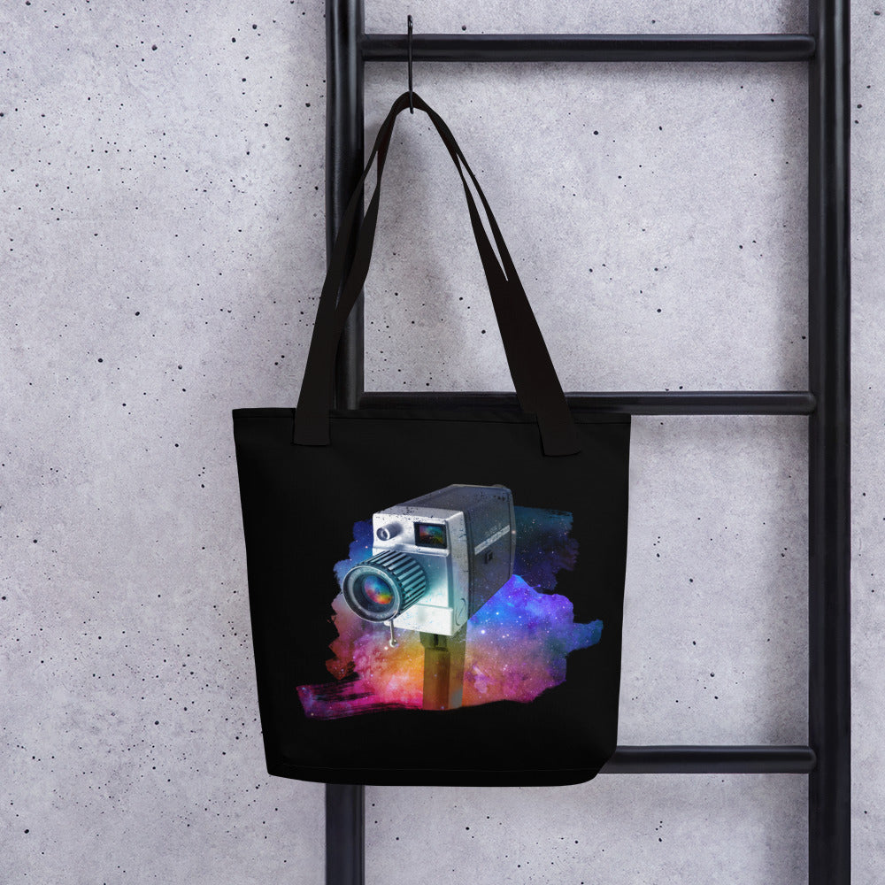 Cosmic Camera Tote bag