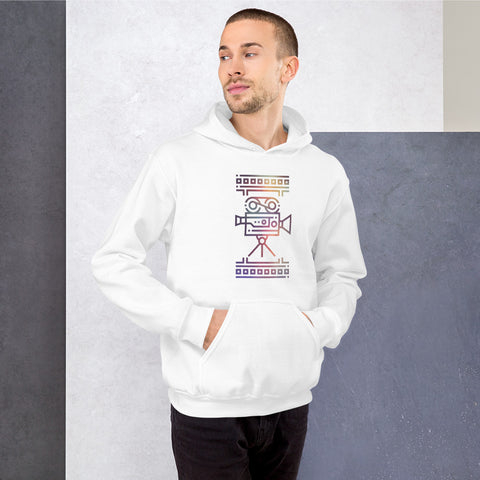 Colourful Film Camera Unisex Hoodie