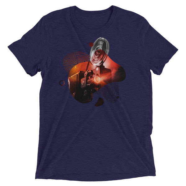 Cosmic Projector (Red) Short sleeve t-shirt
