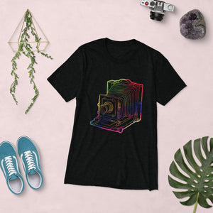 Colourful Old Camera Short sleeve t-shirt