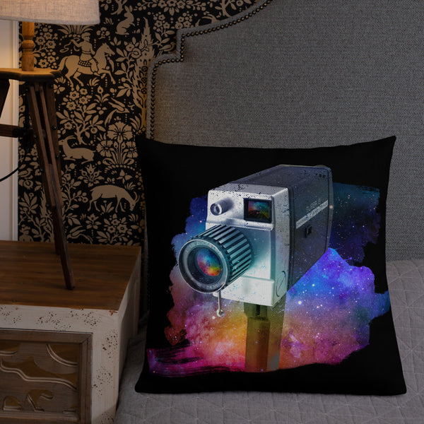 Cosmic Camera and Projector Premium Pillow