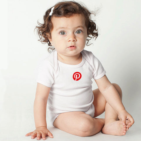 Pinterest - Infant Baby Short Sleeve One-Piece