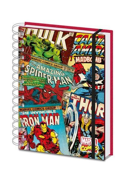 Marvel Comics: Montage A5 Notebook