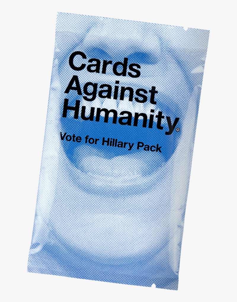 Cards Against Humanity Vote for Hillary Pack Party Game