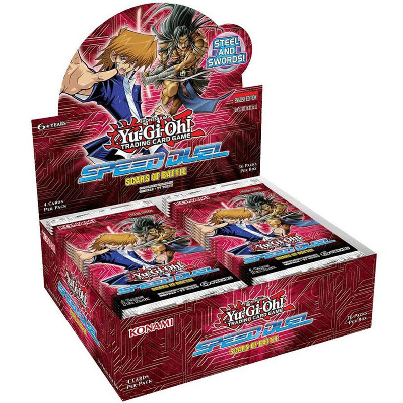 Yu-Gi-Oh! Scars of Battle Speed Duel Booster Box