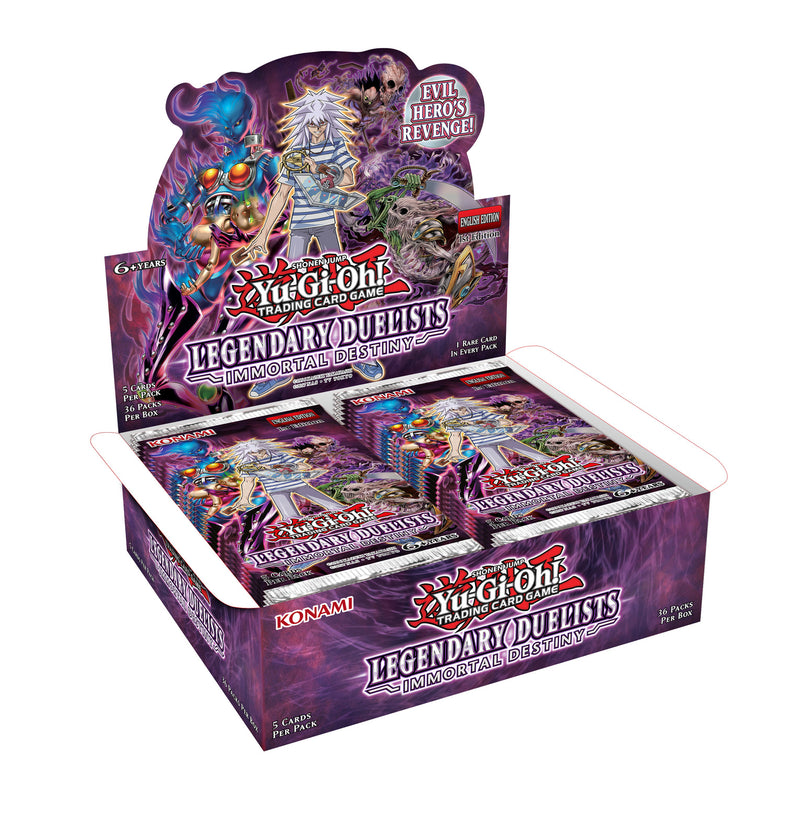 Yu-Gi-Oh! Legendary Duelists Immortal Destiny Booster Box