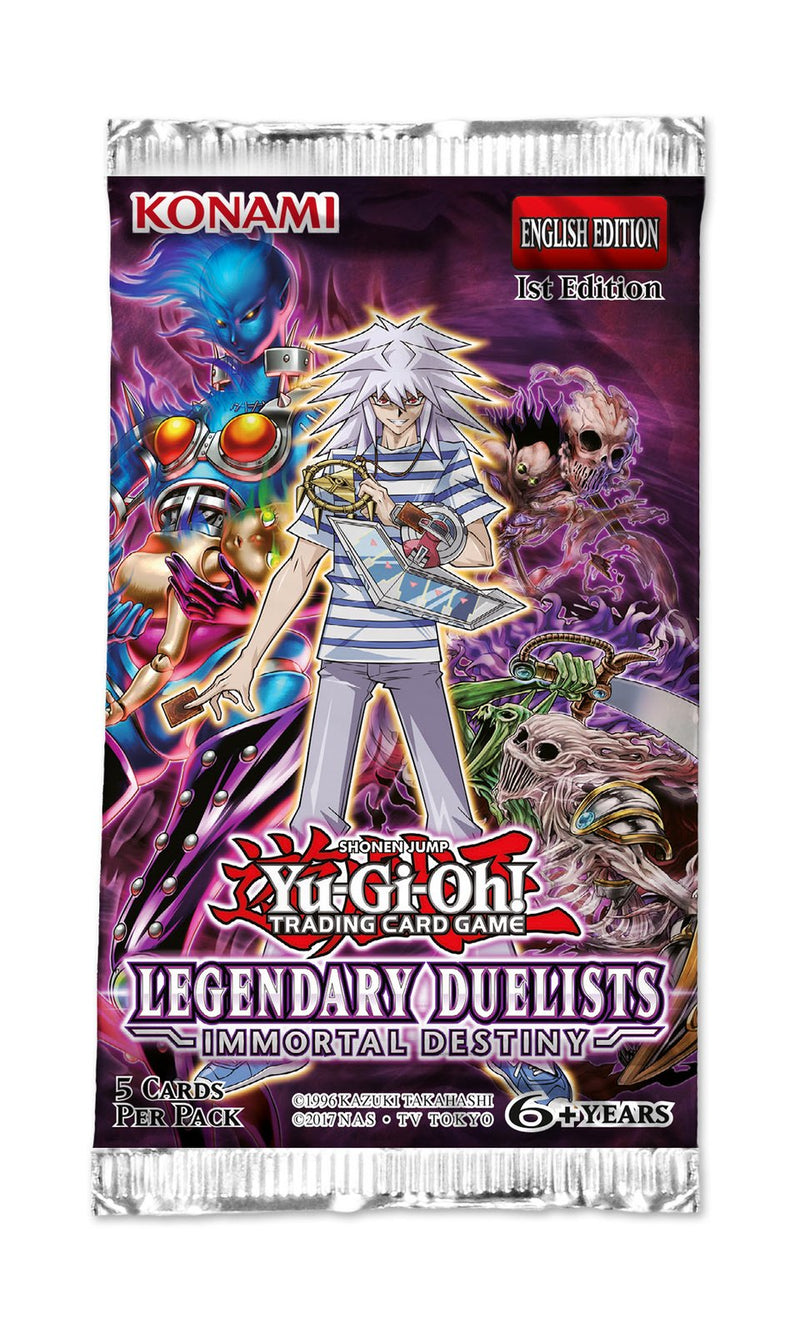 Yu-Gi-Oh! Legendary Duelists Immortal Destiny Booster Pack