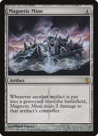 Magnetic Mine [Mirrodin Besieged]