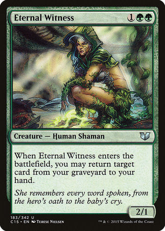 Eternal Witness [Commander 2015]