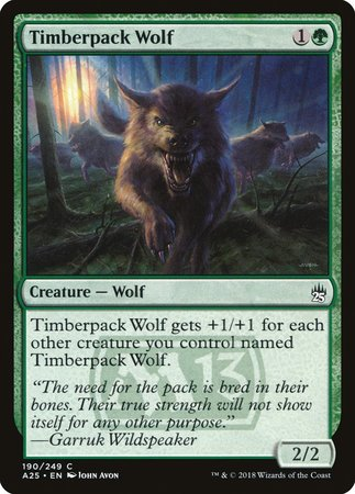 Timberpack Wolf [Masters 25]