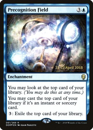 Precognition Field [Dominaria Promos]