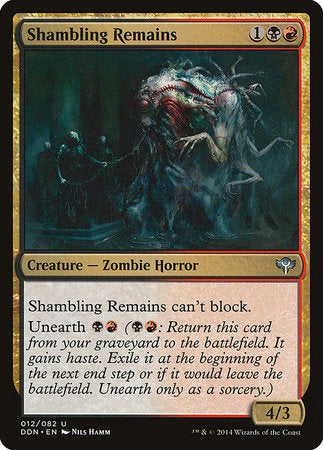 Shambling Remains [Duel Decks: Speed vs. Cunning]