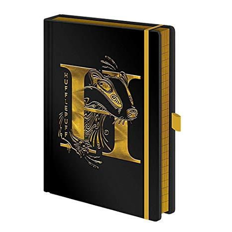 Harry Potter: Hufflepuff Foil Premium A5 Notebook