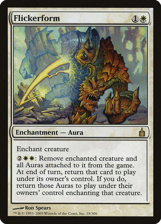 Flickerform [Ravnica: City of Guilds]