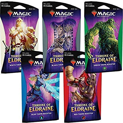 MTG Throne of Eldraine Theme Boosters
