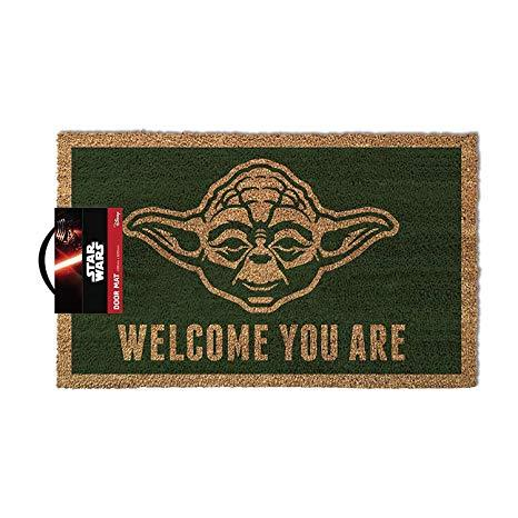 Star Wars: Yoda Welcome you are Doormat