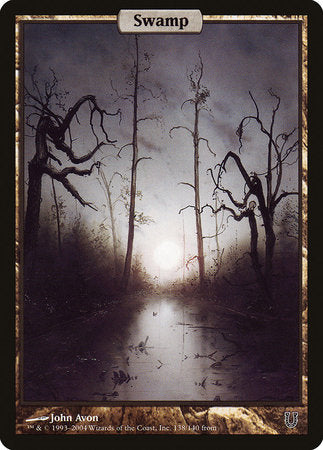 Swamp - Full Art [Unhinged]