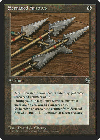 Serrated Arrows [Homelands]