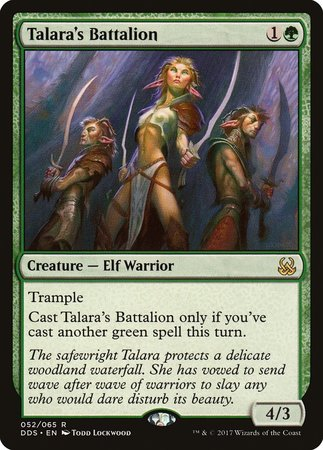 Talara's Battalion [Duel Decks: Mind vs. Might]