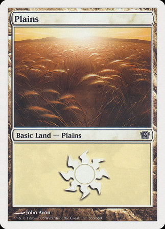 Plains (333) [Ninth Edition]