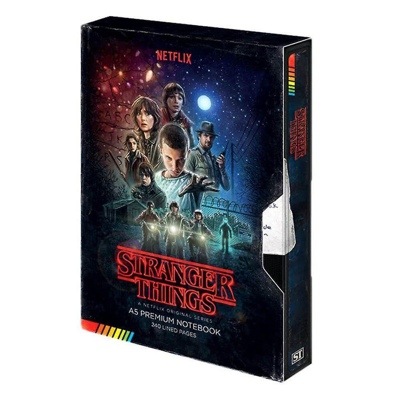 Stranger Things: VHS Premium A5 Notebook