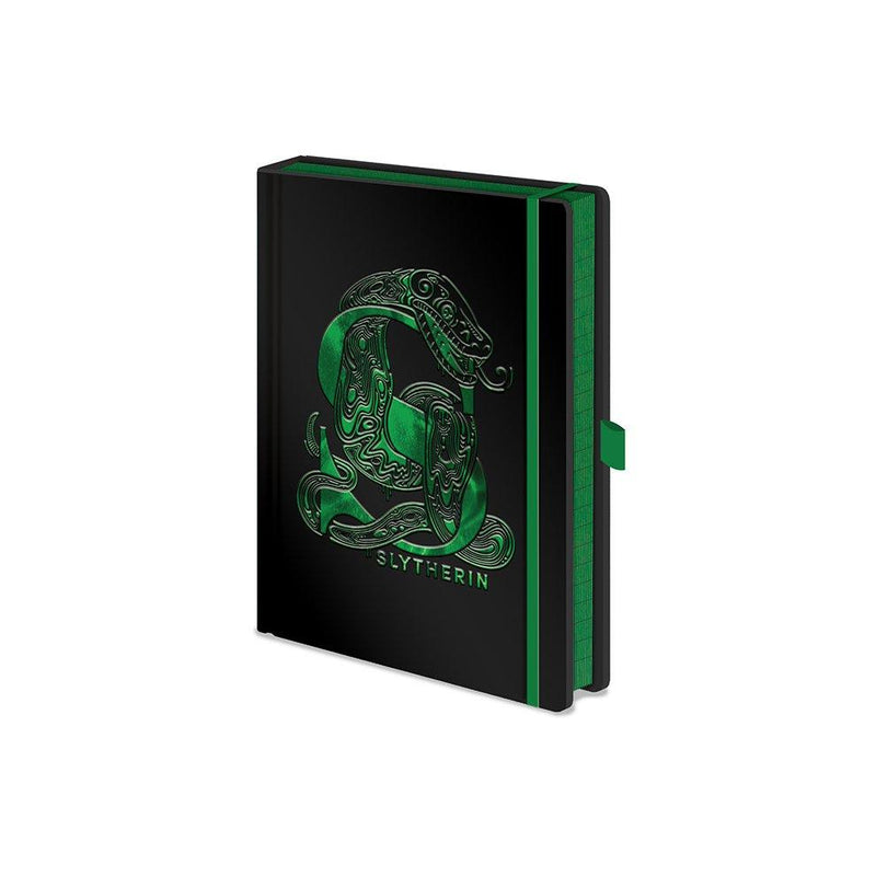 Harry Potter: Slytherin Foil Premium A5 Notebook