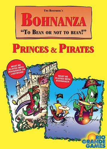 Bohnanza Princes & Pirates Card Game