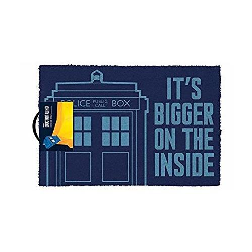 Doctor Who: Bigger On The Inside Doormat