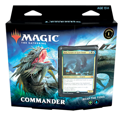Magic The Gathering: Commander Legends Commander Deck