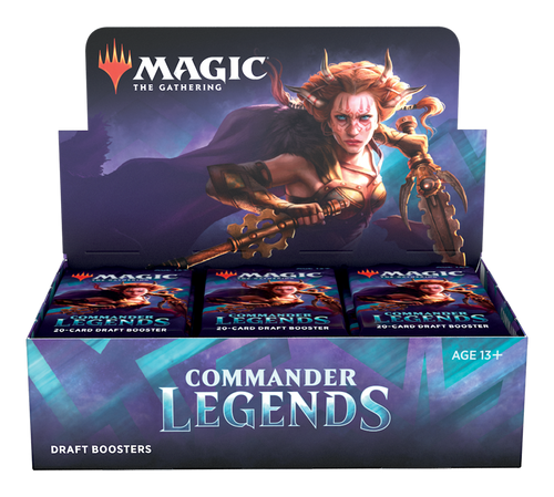 Magic The Gathering (MTG) - Commander Legends Booster Box