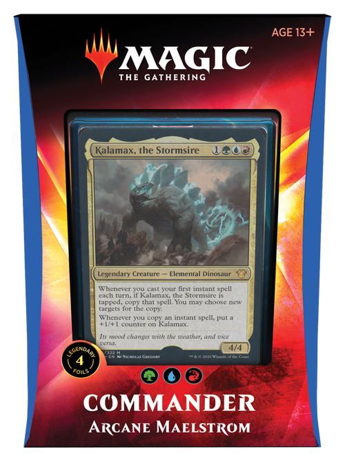 MTG Ikoria Commander Decks 2020