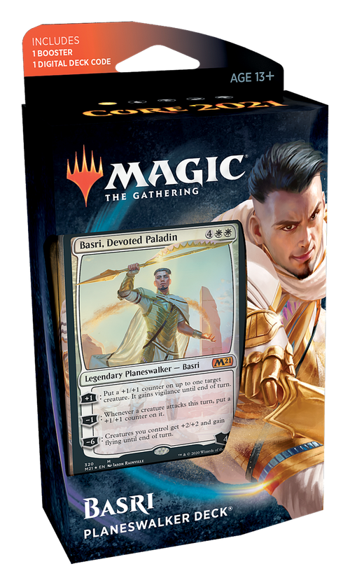 Magic The Gathering: Core Set 2021 Planeswalker Decks