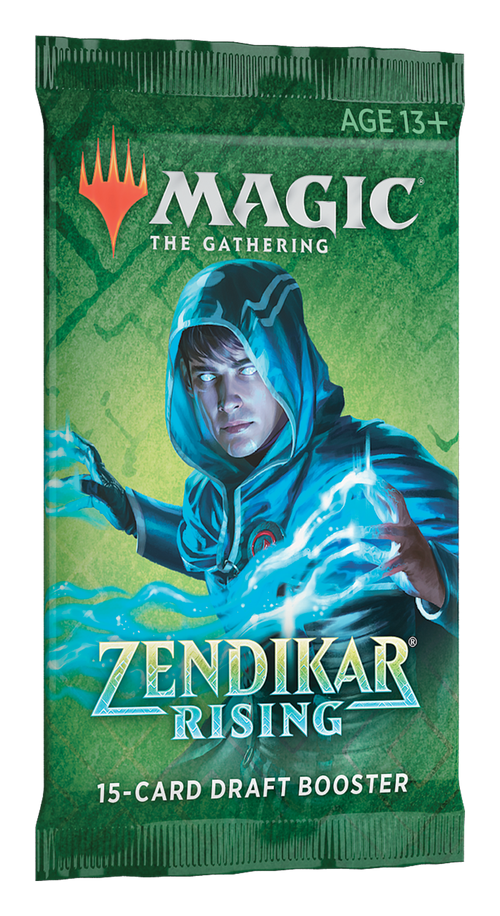 Magic The Gathering: Zendikar Rising Booster Pack
