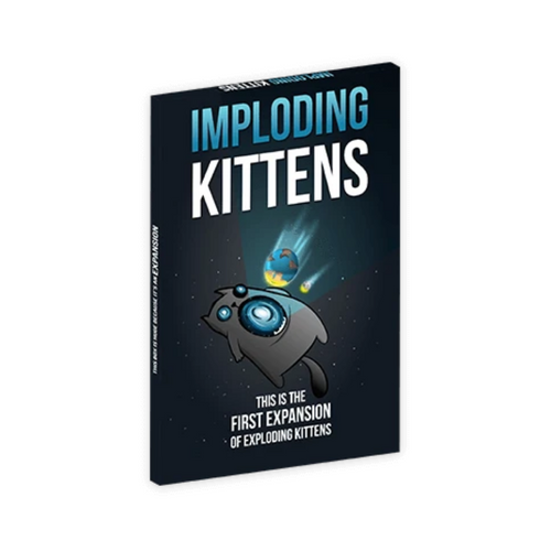 Exploding Kittens Imploding Kittens Expansion Party Game