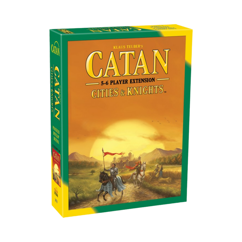 Catan Cities & Knights 5-6 Player Extension - Board Game