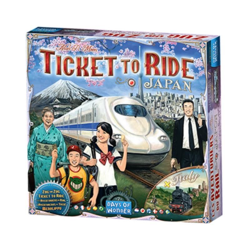 Ticket to Ride Japan/ Italy board game