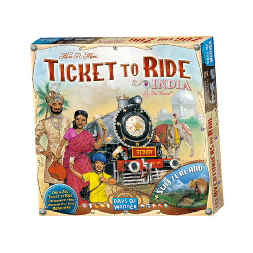 Ticket to Ride India board game
