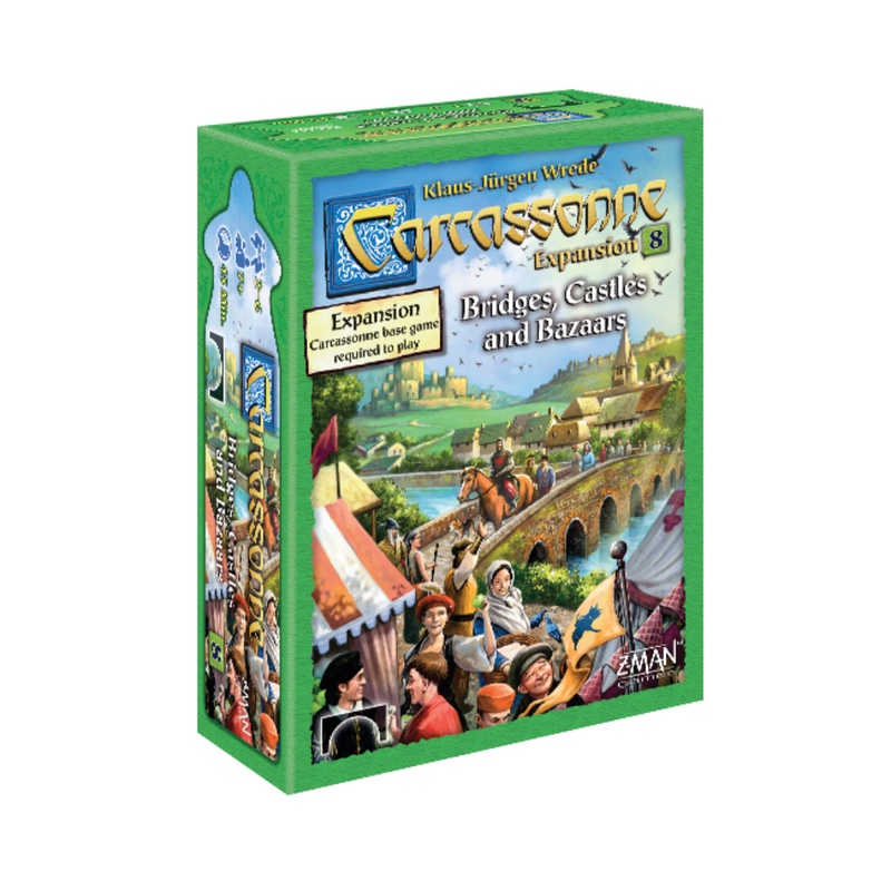 Carcassonne: Bridges, Castles and Bazaars board game