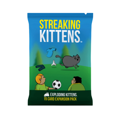 Exploding Kittens Streaking Kittens Expansion Party Game