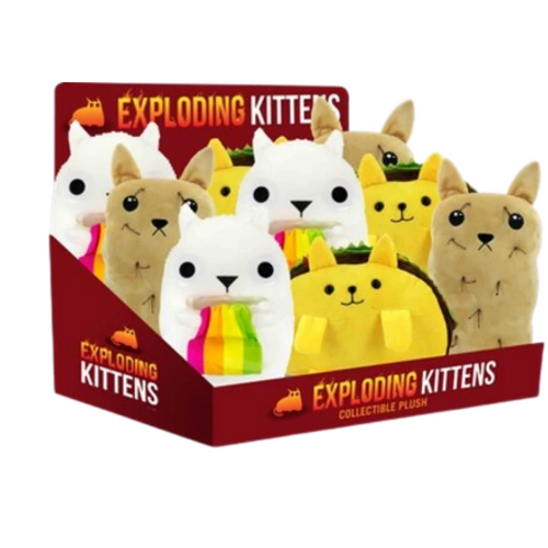Exploding Kittens Collectible Plush Party Game