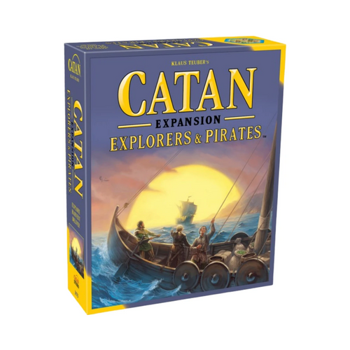 Catan Explorers & Pirates board game