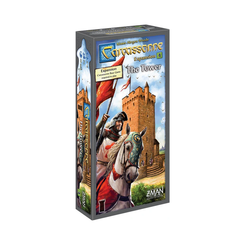 Carcassonne: The Tower board game