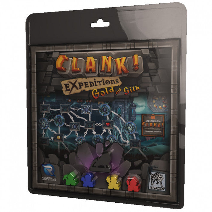 Clank! Expeditions: Gold and Silk