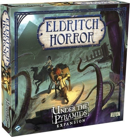 Eldritch Horror Under Pyramid