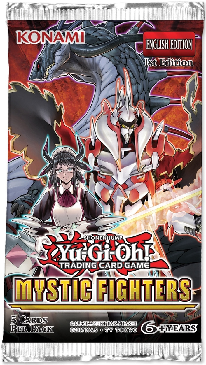 Yu-Gi-Oh! Mystic Fighters Booster Pack