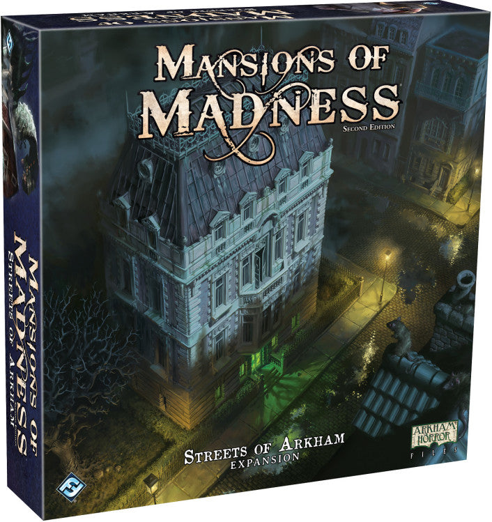 Mansions of Madness: Streets of Arkham - Board Game