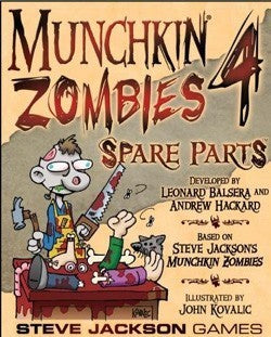 Munchkin Zombies 4 Spare Parts *Damaged Box*